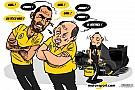 Cartoon van Cirebox - Meningsverschil bij Renault...