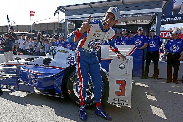IndyCar Pole con record per Helio Castroneves a Long Beach