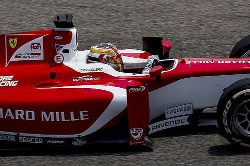 F2 Barcelona: Leclerc snelste in training, De Vries P7