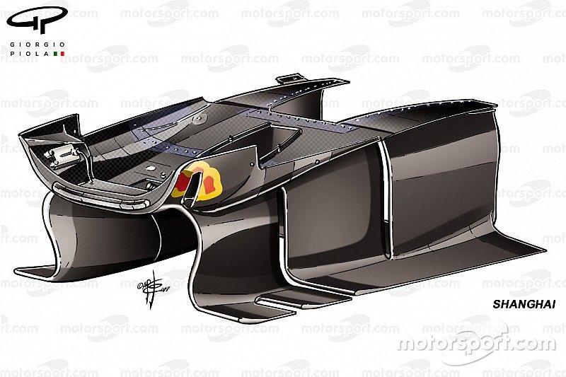 Технический анализ: в Red Bull доработали поворотные лопасти