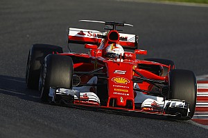 Vettel compara los nuevos coches con una aspirina