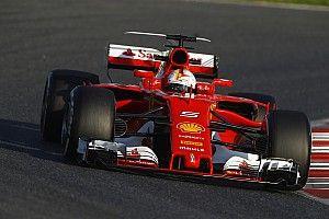 """【F1】ベッテル、新マシンに好感触「全く違う""""獣""""みたいだ」"""