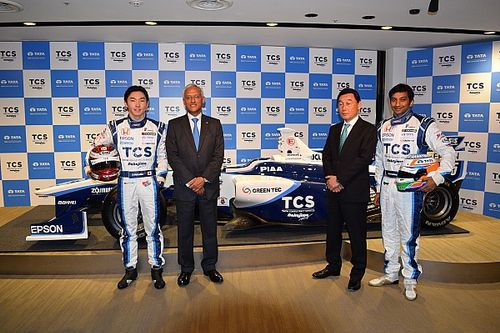 TCS becomes title sponsor of Karthikeyan's Nakajima Racing team