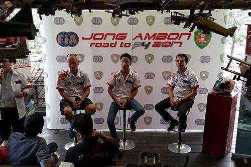 David Sitanala akan berlaga di Formula 4 Tiongkok musim 2017