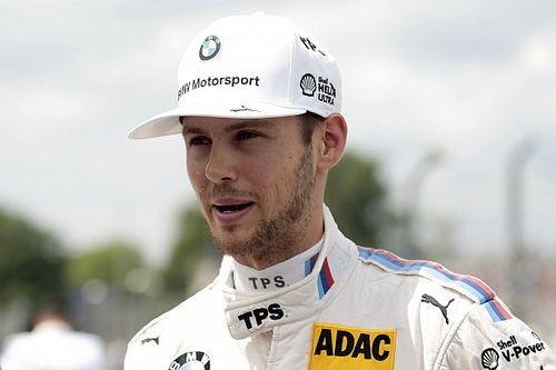 Tom Blomqvist alla 24 Ore di Spa con la BMW della Rowe