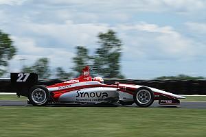 Indy Lights Reporte de la carrera Jamin aprovecha y se lleva Carrera 2 en Mid-Ohio