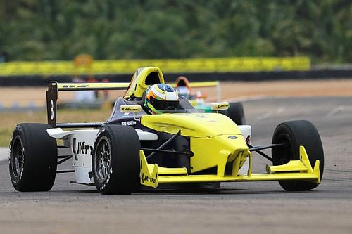 Coimbatore JK Tyre: Prasad makes it two in a row