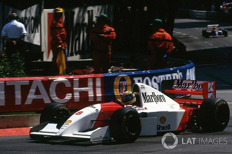 Va all'asta la McLaren con cui Senna vinse il 6° GP di Monaco