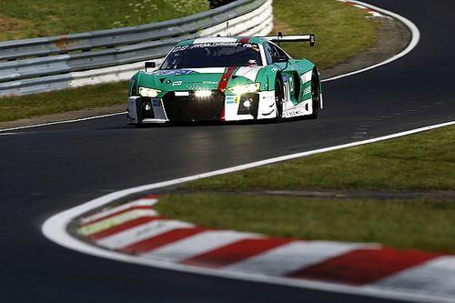 24 uur Nürburgring: Team Land Audi voert eerste training aan