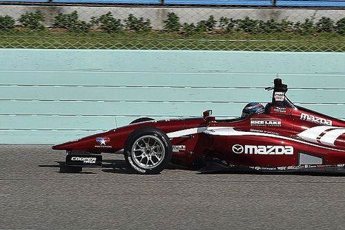 St Pete Indy Lights: Telitz takes pole on series debut