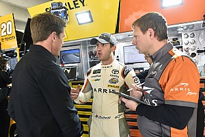 NASCAR Cup Interview Suarez leaning on JGR teammates and Edwards ahead of Atlanta Cup debut