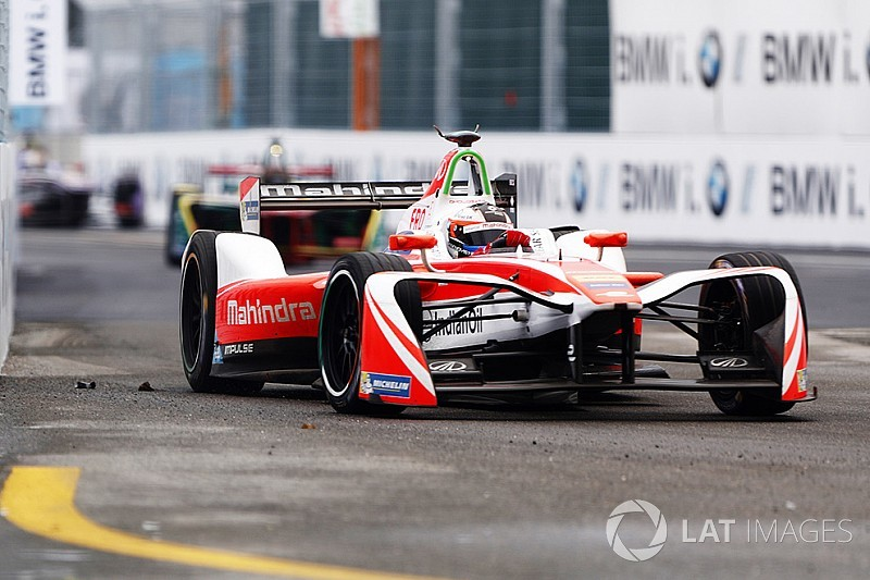 New York ePrix: Rosenqvist and Lynn top practice sessions