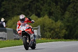 MotoGP Репортаж з практики Гран Прі Австрії: Довіціозо став найкращим у розминці