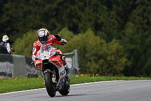MotoGP Austria: Dovizioso puncaki warm-up, Rossi keenam