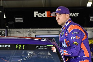 NASCAR Cup Practice report Denny Hamlin leads first NASCAR Cup practice at Bristol