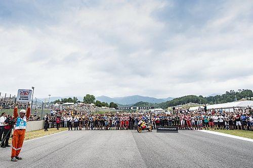"La MotoGP ha ricordato Hayden con 69"" di silenzio al Mugello"