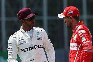 """Ricciardo: """"Hamilton manteve cabeça mais fria que Vettel"""""""