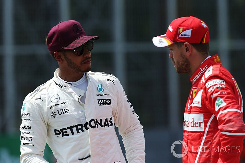 EKSKLUSIF: Hamilton peringatkan Vettel usai insiden Baku