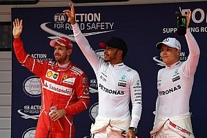 Grid start balapan GP Tiongkok 2017