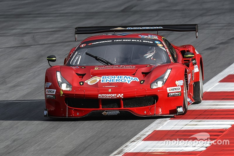 Scuderia Praha Ferrari on pole for the inaugural 24H Portimão