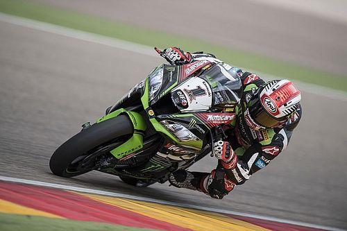 WK Superbike: Davies crasht vanuit leidende positie, Van der Mark vijfde