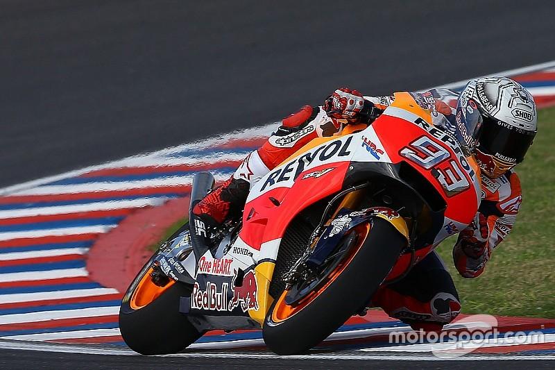 Pour Márquez, les pilotes n'ont pas le temps d'essayer tous les pneus
