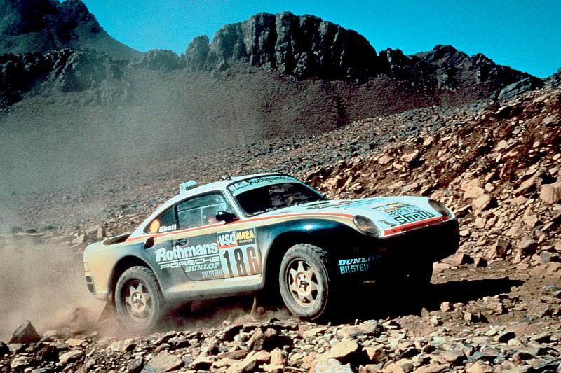 Porsche с гонки «Париж-Дакар» продадут на аукционе