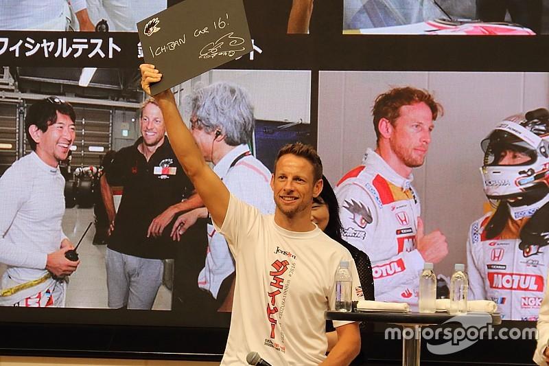 Button dikontrak Honda untuk Super GT 2018