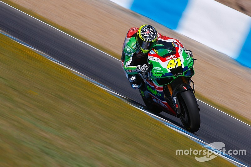 Aprilia set to run new chassis, gearbox in coming races