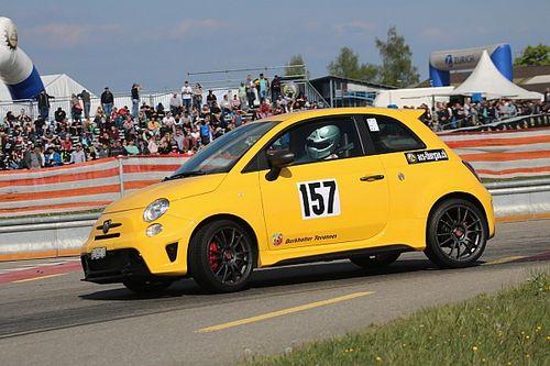 Abarth Trofeo : retour spectaculaire pour Sylvain Burkhalter