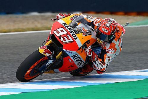 """Marquez: """"Giornata positiva, ma dobbiamo capire come andrà la moto con il caldo"""""""