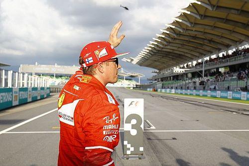 """Raikkonen: """"Ferrari da pole, sono deluso. Domani posso fare bene"""""""