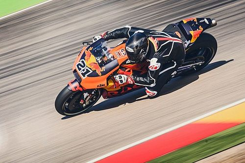 """Geiler Tag"": Markus Reiterbergers 1. MotoGP-Test mit KTM"
