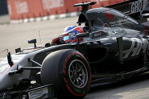 Grosjean doute de la Q2 pour Haas