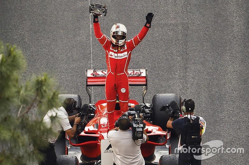Vettel wint 75ste Grand Prix van Monaco, Verstappen vijfde