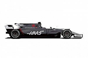 Haas onthult aangepaste livery F1-wagen