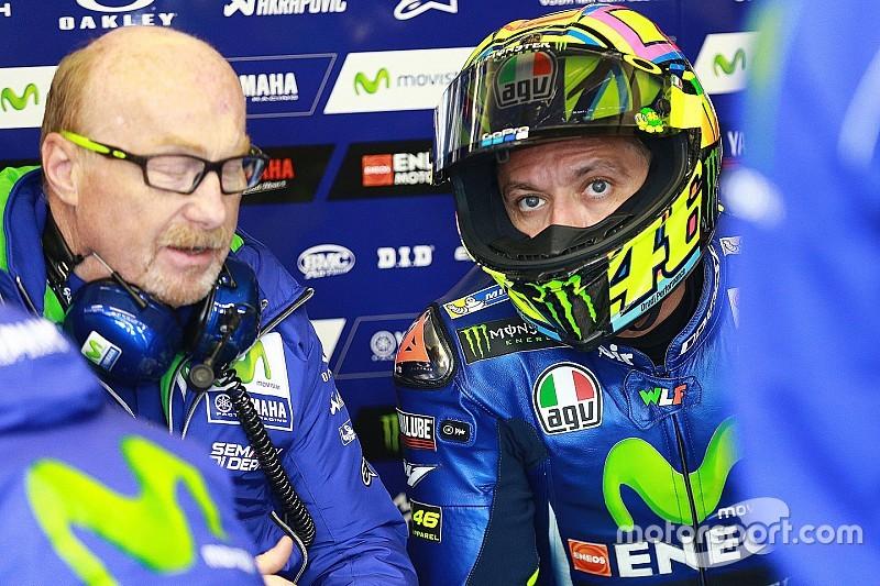 【MotoGP】トレーニング中に負傷のロッシ「まだ深刻な痛みがある」