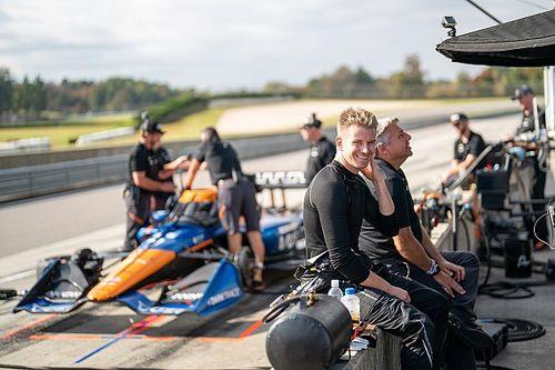 Hulkenberg causa gran impresión en su primera vez sobre un IndyCar