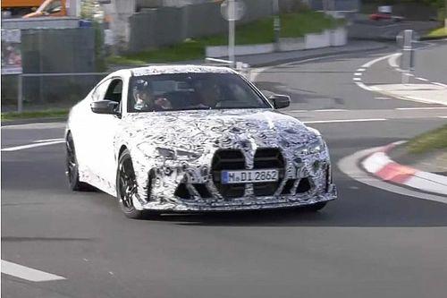 A 2023-as BMW M4 CSL már a Nürburgringen körözget - VIDEÓ