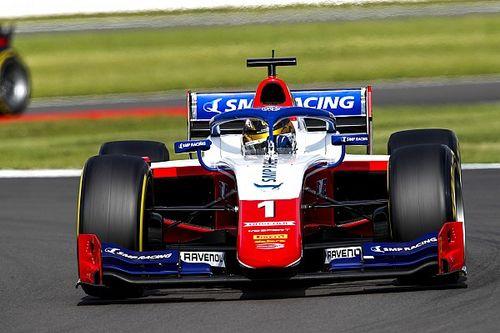 F2, Silverstone, Gara 1: Shwartzman domina, Zhou sbaglia