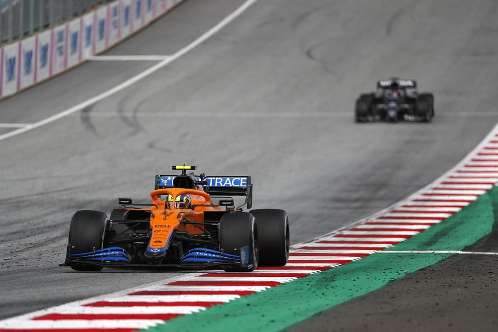 """Seidl: """"Not right"""" penalty system puts Norris close to F1 race ban"""