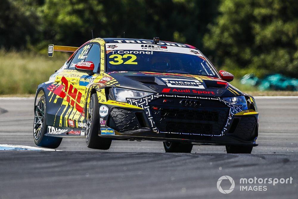WTCR, Aragón: Coronel guida il tris Audi nelle Libere 1