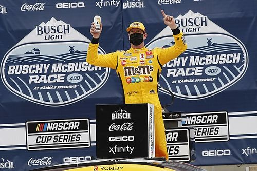 NASCAR Kansas: Kyle Busch takes first Cup win of 2021