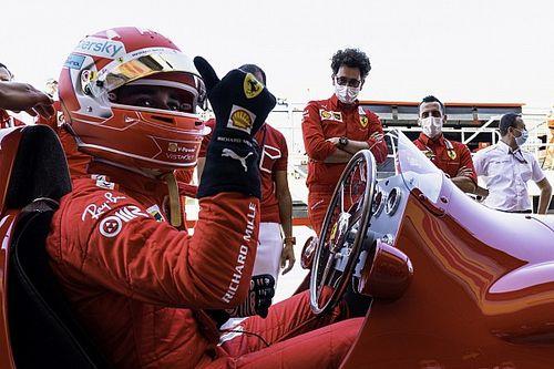 """Leclerc, sin victoria, pero """"Piloto del Día"""" en Silverstone"""