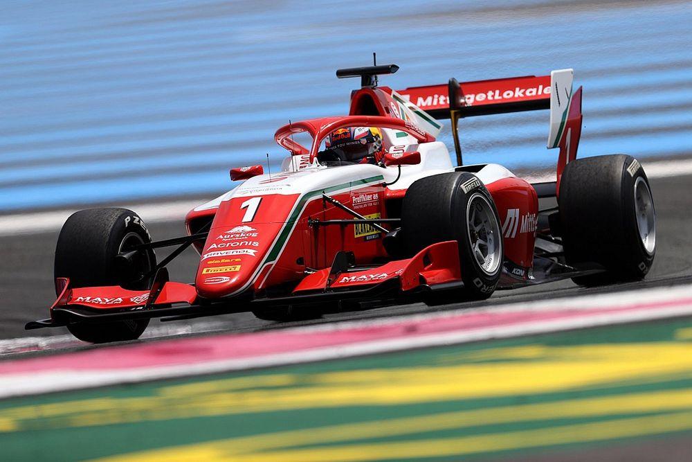 France F3: Hauger tops practice times with last-gasp effort