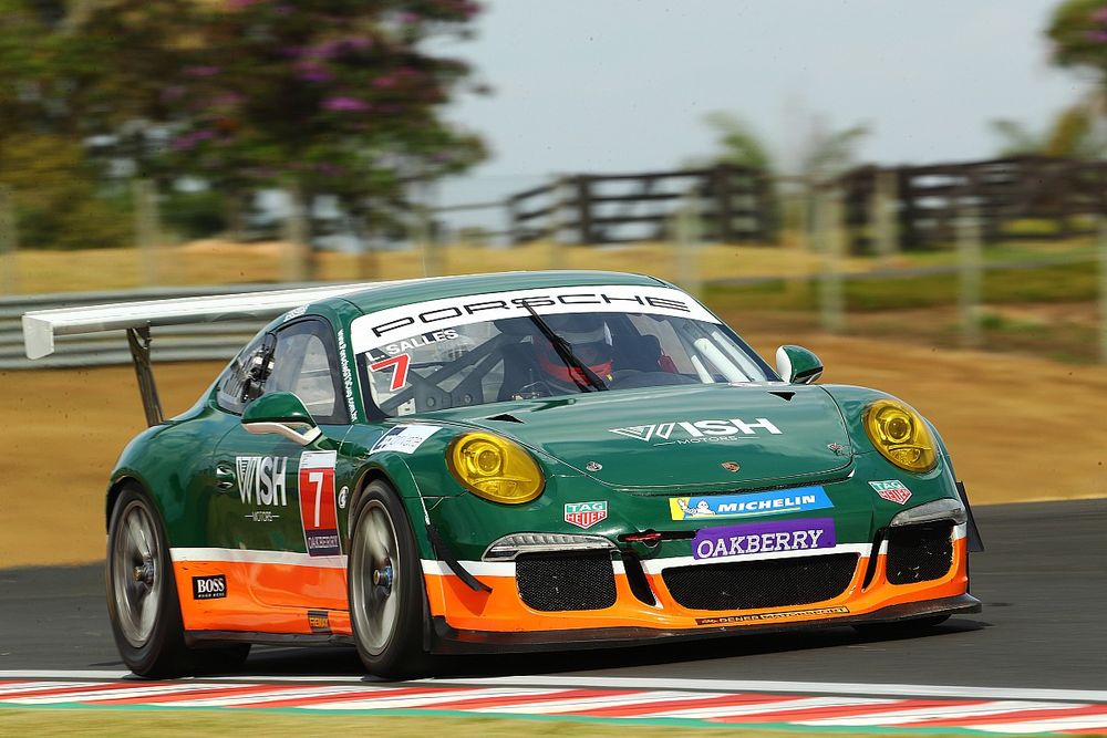 Porsche GT3 Cup: Salles voa e consegue pole position no Velocitta