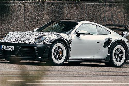 Porsche 911, le foto spia della supercar elaborata da Techart