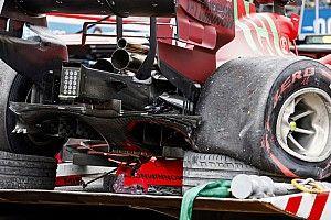 Ferrari Menilai Kerusakan Driveshaft Mobil Leclerc Bukan Efek Crash