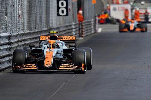 Norris verheldert waarom hij hand opstak bij dubbelen Ricciardo