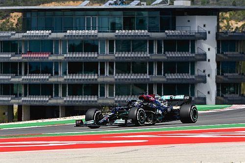 SEXTA LIVRE: Briga de 'gato e rato' entre Mercedes e Red Bull nos treinos em Portugal